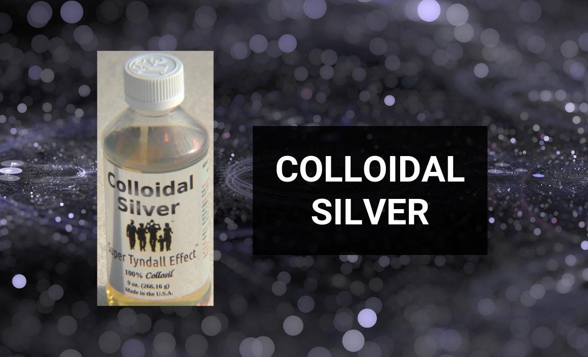 Colloidal Silver as an Alternative Treatment