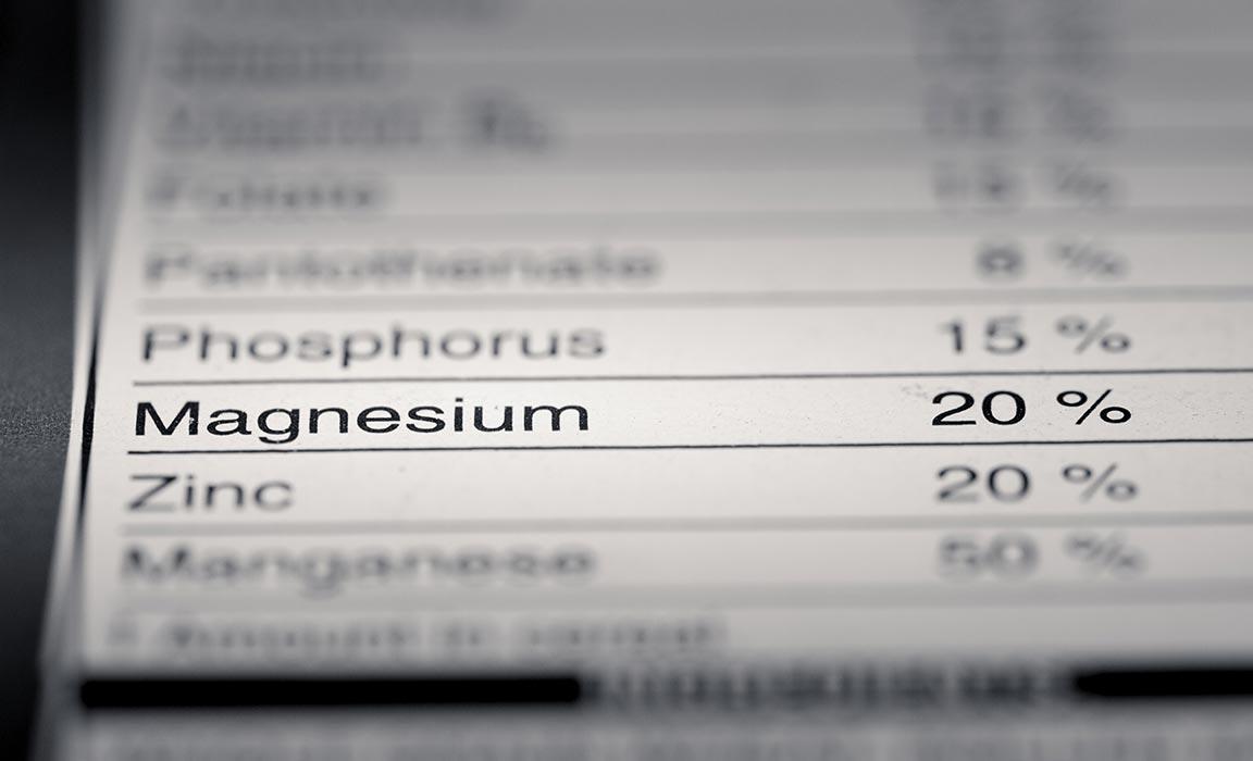 Magnesium Deficiency Warning Signs