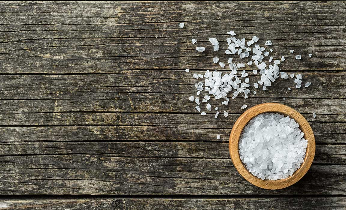 Sea salt doesn't make you thirsty…